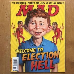 MAD Magazine Election 2012